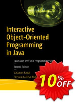Interactive Object-Oriented Programming in Java (Sarcar) 優惠券,折扣碼 Interactive Object-Oriented Programming in Java (Sarcar) Deal,促銷代碼: Interactive Object-Oriented Programming in Java (Sarcar) Exclusive Easter Sale offer for iVoicesoft