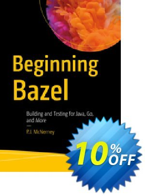 Beginning Bazel (McNerney) 優惠券,折扣碼 Beginning Bazel (McNerney) Deal,促銷代碼: Beginning Bazel (McNerney) Exclusive Easter Sale offer for iVoicesoft