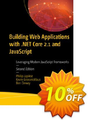 Building Web Applications with .NET Core 2.1 and JavaScript (Japikse) Coupon discount Building Web Applications with .NET Core 2.1 and JavaScript (Japikse) Deal. Promotion: Building Web Applications with .NET Core 2.1 and JavaScript (Japikse) Exclusive Easter Sale offer for iVoicesoft