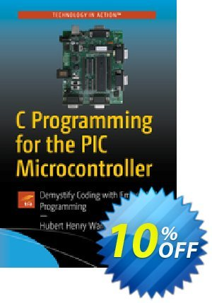 C Programming for the PIC Microcontroller (Ward) discount coupon C Programming for the PIC Microcontroller (Ward) Deal - C Programming for the PIC Microcontroller (Ward) Exclusive Easter Sale offer for iVoicesoft