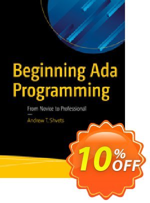 Beginning Ada Programming (Shvets) discount coupon Beginning Ada Programming (Shvets) Deal - Beginning Ada Programming (Shvets) Exclusive Easter Sale offer for iVoicesoft