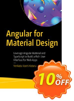 Angular for Material Design (Kotaru) discount coupon Angular for Material Design (Kotaru) Deal - Angular for Material Design (Kotaru) Exclusive Easter Sale offer for iVoicesoft
