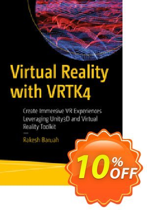 Virtual Reality with VRTK4 (Baruah) 프로모션 코드 Virtual Reality with VRTK4 (Baruah) Deal 프로모션: Virtual Reality with VRTK4 (Baruah) Exclusive Easter Sale offer for iVoicesoft