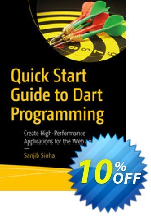 Quick Start Guide to Dart Programming (Sinha) 프로모션 코드 Quick Start Guide to Dart Programming (Sinha) Deal 프로모션: Quick Start Guide to Dart Programming (Sinha) Exclusive Easter Sale offer for iVoicesoft