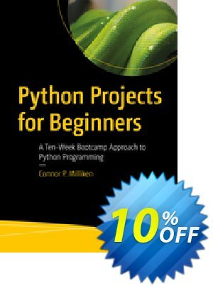 Python Projects for Beginners (Milliken) Coupon discount Python Projects for Beginners (Milliken) Deal. Promotion: Python Projects for Beginners (Milliken) Exclusive Easter Sale offer for iVoicesoft