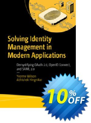 Solving Identity Management in Modern Applications (Wilson) discount coupon Solving Identity Management in Modern Applications (Wilson) Deal - Solving Identity Management in Modern Applications (Wilson) Exclusive Easter Sale offer for iVoicesoft