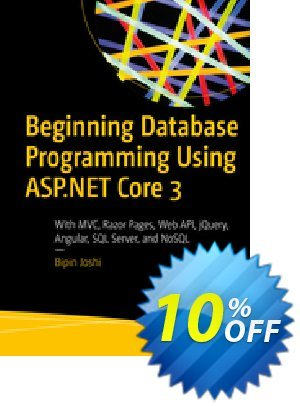 Beginning Database Programming Using ASP.NET Core 3 (Joshi) discount coupon Beginning Database Programming Using ASP.NET Core 3 (Joshi) Deal - Beginning Database Programming Using ASP.NET Core 3 (Joshi) Exclusive Easter Sale offer for iVoicesoft