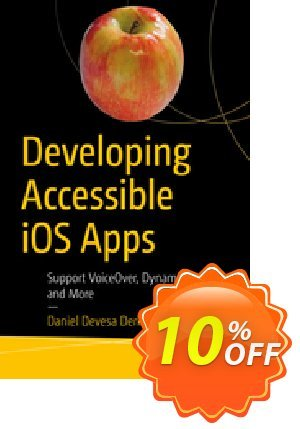 Developing Accessible iOS Apps (Derksen-Staats) discount coupon Developing Accessible iOS Apps (Derksen-Staats) Deal - Developing Accessible iOS Apps (Derksen-Staats) Exclusive Easter Sale offer for iVoicesoft