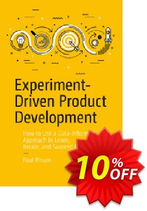 Experiment-Driven Product Development (Rissen) 優惠券,折扣碼 Experiment-Driven Product Development (Rissen) Deal,促銷代碼: Experiment-Driven Product Development (Rissen) Exclusive Easter Sale offer for iVoicesoft