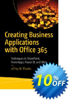 Creating Business Applications with Office 365 (Rhodes) Coupon discount Creating Business Applications with Office 365 (Rhodes) Deal. Promotion: Creating Business Applications with Office 365 (Rhodes) Exclusive Easter Sale offer for iVoicesoft