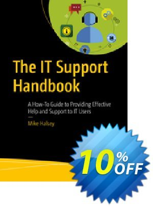 The IT Support Handbook (Halsey) discount coupon The IT Support Handbook (Halsey) Deal - The IT Support Handbook (Halsey) Exclusive Easter Sale offer for iVoicesoft