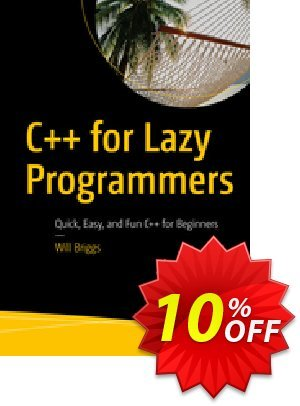 C++ for Lazy Programmers (Briggs) 優惠券,折扣碼 C++ for Lazy Programmers (Briggs) Deal,促銷代碼: C++ for Lazy Programmers (Briggs) Exclusive Easter Sale offer for iVoicesoft