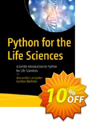 Python for the Life Sciences (Lancaster) 프로모션 코드 Python for the Life Sciences (Lancaster) Deal 프로모션: Python for the Life Sciences (Lancaster) Exclusive Easter Sale offer for iVoicesoft