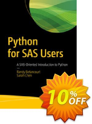 Python for SAS Users (Betancourt) discount coupon Python for SAS Users (Betancourt) Deal - Python for SAS Users (Betancourt) Exclusive Easter Sale offer for iVoicesoft