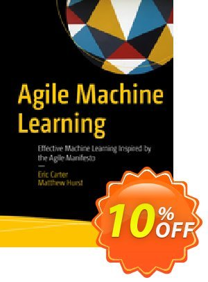 Agile Machine Learning (Carter) discount coupon Agile Machine Learning (Carter) Deal - Agile Machine Learning (Carter) Exclusive Easter Sale offer for iVoicesoft