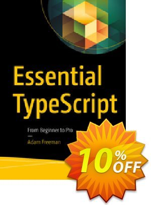 Essential TypeScript (Freeman) Coupon discount Essential TypeScript (Freeman) Deal. Promotion: Essential TypeScript (Freeman) Exclusive Easter Sale offer for iVoicesoft