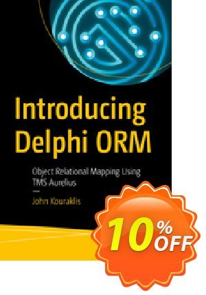 Introducing Delphi ORM (Kouraklis) 프로모션 코드 Introducing Delphi ORM (Kouraklis) Deal 프로모션: Introducing Delphi ORM (Kouraklis) Exclusive Easter Sale offer for iVoicesoft