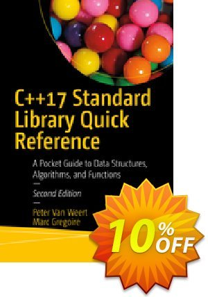 C++17 Standard Library Quick Reference (Van Weert) Coupon, discount C++17 Standard Library Quick Reference (Van Weert) Deal. Promotion: C++17 Standard Library Quick Reference (Van Weert) Exclusive Easter Sale offer for iVoicesoft