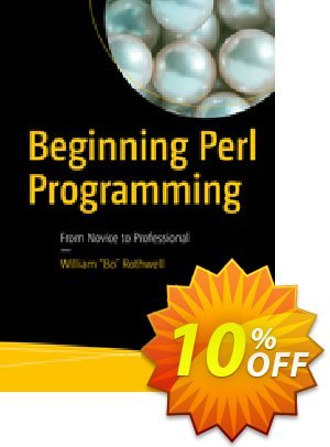 Beginning Perl Programming (Rothwell) 優惠券,折扣碼 Beginning Perl Programming (Rothwell) Deal,促銷代碼: Beginning Perl Programming (Rothwell) Exclusive Easter Sale offer for iVoicesoft