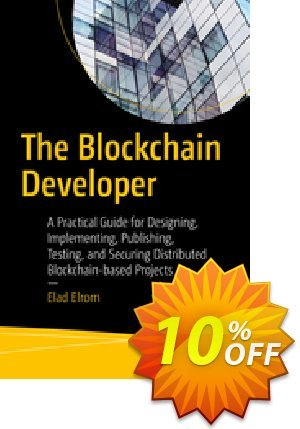 The Blockchain Developer (ELROM) 優惠券,折扣碼 The Blockchain Developer (ELROM) Deal,促銷代碼: The Blockchain Developer (ELROM) Exclusive Easter Sale offer for iVoicesoft