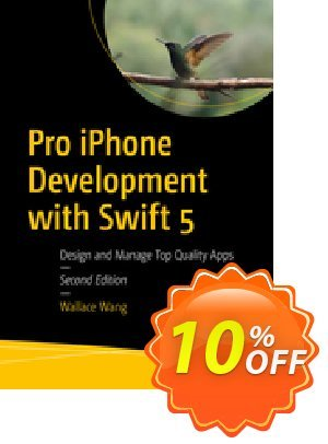 Pro iPhone Development with Swift 5 (Wang) discount coupon Pro iPhone Development with Swift 5 (Wang) Deal - Pro iPhone Development with Swift 5 (Wang) Exclusive Easter Sale offer for iVoicesoft