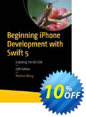 Beginning iPhone Development with Swift 5 (Wang) Coupon discount Beginning iPhone Development with Swift 5 (Wang) Deal. Promotion: Beginning iPhone Development with Swift 5 (Wang) Exclusive Easter Sale offer for iVoicesoft