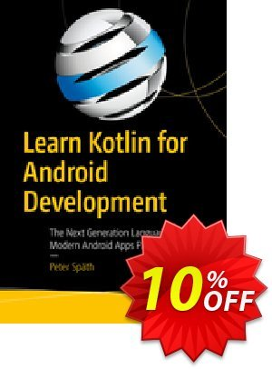 Learn Kotlin for Android Development (Späth) discount coupon Learn Kotlin for Android Development (Späth) Deal - Learn Kotlin for Android Development (Späth) Exclusive Easter Sale offer for iVoicesoft