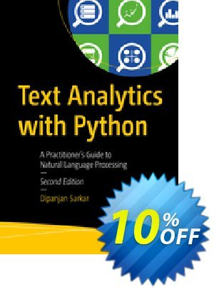 Text Analytics with Python (Sarkar) discount coupon Text Analytics with Python (Sarkar) Deal - Text Analytics with Python (Sarkar) Exclusive Easter Sale offer for iVoicesoft