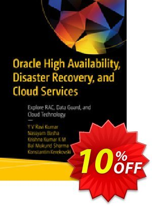 Oracle High Availability, Disaster Recovery, and Cloud Services (Ravi Kumar) 프로모션 코드 Oracle High Availability, Disaster Recovery, and Cloud Services (Ravi Kumar) Deal 프로모션: Oracle High Availability, Disaster Recovery, and Cloud Services (Ravi Kumar) Exclusive Easter Sale offer for iVoicesoft