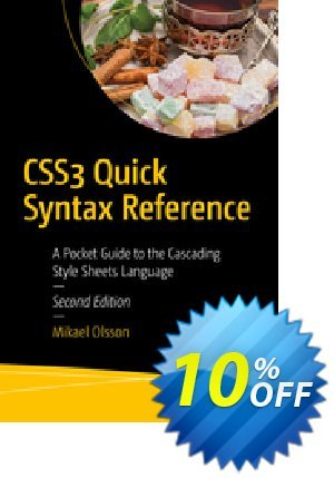 CSS3 Quick Syntax Reference (Olsson) Coupon discount CSS3 Quick Syntax Reference (Olsson) Deal. Promotion: CSS3 Quick Syntax Reference (Olsson) Exclusive Easter Sale offer for iVoicesoft