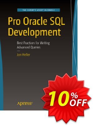 Pro Oracle SQL Development (Heller) discount coupon Pro Oracle SQL Development (Heller) Deal - Pro Oracle SQL Development (Heller) Exclusive Easter Sale offer for iVoicesoft