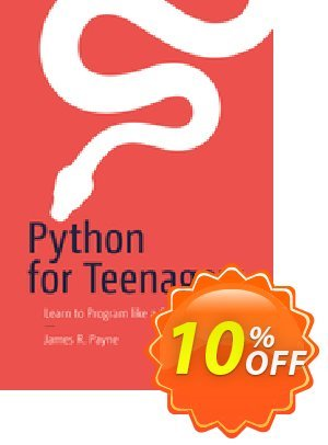 Python for Teenagers (Payne) 優惠券,折扣碼 Python for Teenagers (Payne) Deal,促銷代碼: Python for Teenagers (Payne) Exclusive Easter Sale offer for iVoicesoft