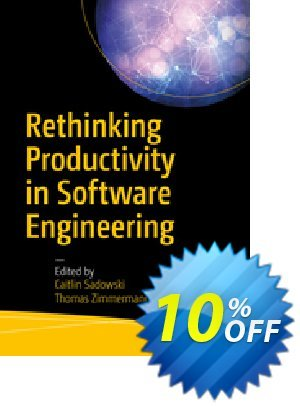 Rethinking Productivity in Software Engineering (Editors:                 Sadowski) discount coupon Rethinking Productivity in Software Engineering (Editors:                 Sadowski) Deal - Rethinking Productivity in Software Engineering (Editors:                 Sadowski) Exclusive Easter Sale offer for iVoicesoft