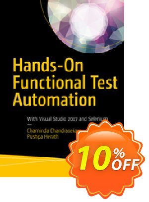 Hands-On Functional Test Automation (Chandrasekara) discount coupon Hands-On Functional Test Automation (Chandrasekara) Deal - Hands-On Functional Test Automation (Chandrasekara) Exclusive Easter Sale offer for iVoicesoft