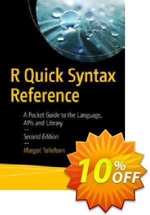 R Quick Syntax Reference (Tollefson) discount coupon R Quick Syntax Reference (Tollefson) Deal - R Quick Syntax Reference (Tollefson) Exclusive Easter Sale offer for iVoicesoft