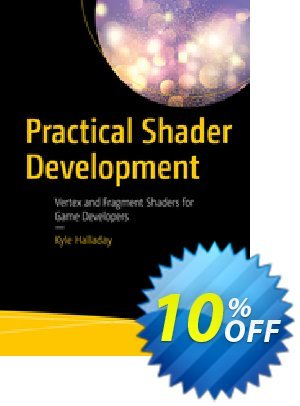 Practical Shader Development (Halladay) 優惠券,折扣碼 Practical Shader Development (Halladay) Deal,促銷代碼: Practical Shader Development (Halladay) Exclusive Easter Sale offer for iVoicesoft