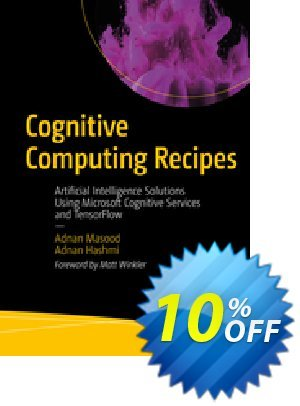 Cognitive Computing Recipes (Masood) 프로모션 코드 Cognitive Computing Recipes (Masood) Deal 프로모션: Cognitive Computing Recipes (Masood) Exclusive Easter Sale offer for iVoicesoft