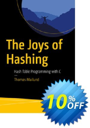 The Joys of Hashing (Mailund) discount coupon The Joys of Hashing (Mailund) Deal - The Joys of Hashing (Mailund) Exclusive Easter Sale offer for iVoicesoft