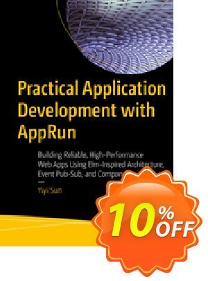 Practical Application Development with AppRun (Sun) 프로모션 코드 Practical Application Development with AppRun (Sun) Deal 프로모션: Practical Application Development with AppRun (Sun) Exclusive Easter Sale offer for iVoicesoft