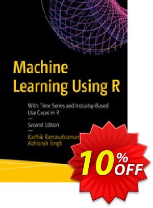 Machine Learning Using R (Ramasubramanian) Coupon discount Machine Learning Using R (Ramasubramanian) Deal. Promotion: Machine Learning Using R (Ramasubramanian) Exclusive Easter Sale offer for iVoicesoft