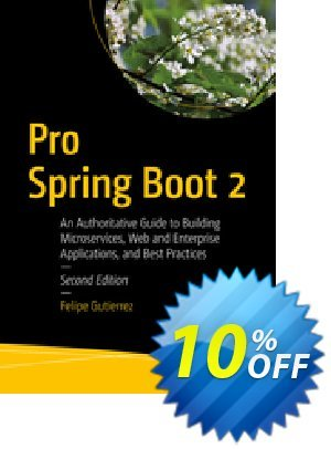 Pro Spring Boot 2 (Gutierrez) discount coupon Pro Spring Boot 2 (Gutierrez) Deal - Pro Spring Boot 2 (Gutierrez) Exclusive Easter Sale offer for iVoicesoft