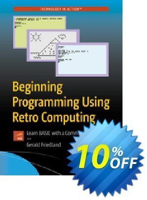 Beginning Programming Using Retro Computing (Friedland) discount coupon Beginning Programming Using Retro Computing (Friedland) Deal - Beginning Programming Using Retro Computing (Friedland) Exclusive Easter Sale offer for iVoicesoft