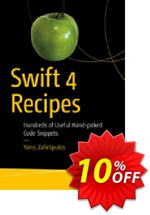 Swift 4 Recipes (Zafirópulos) discount coupon Swift 4 Recipes (Zafirópulos) Deal - Swift 4 Recipes (Zafirópulos) Exclusive Easter Sale offer for iVoicesoft
