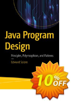 Java Program Design (Sciore) discount coupon Java Program Design (Sciore) Deal - Java Program Design (Sciore) Exclusive Easter Sale offer for iVoicesoft