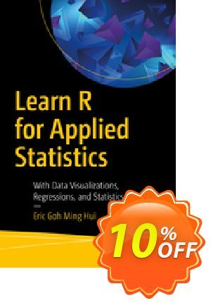 Learn R for Applied Statistics (Ming Hui) discount coupon Learn R for Applied Statistics (Ming Hui) Deal - Learn R for Applied Statistics (Ming Hui) Exclusive Easter Sale offer for iVoicesoft