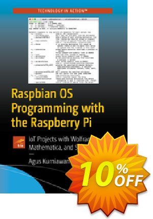Raspbian OS Programming with the Raspberry Pi (Kurniawan) Coupon discount Raspbian OS Programming with the Raspberry Pi (Kurniawan) Deal. Promotion: Raspbian OS Programming with the Raspberry Pi (Kurniawan) Exclusive Easter Sale offer for iVoicesoft