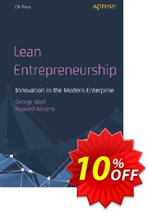 Lean Entrepreneurship (Watt) discount coupon Lean Entrepreneurship (Watt) Deal - Lean Entrepreneurship (Watt) Exclusive Easter Sale offer for iVoicesoft