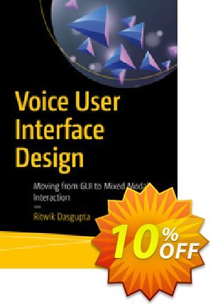 Voice User Interface Design (Dasgupta) Coupon discount Voice User Interface Design (Dasgupta) Deal. Promotion: Voice User Interface Design (Dasgupta) Exclusive Easter Sale offer for iVoicesoft