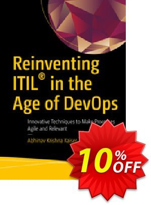 Reinventing ITIL® in the Age of DevOps (Krishna) discount coupon Reinventing ITIL® in the Age of DevOps (Krishna) Deal - Reinventing ITIL® in the Age of DevOps (Krishna) Exclusive Easter Sale offer for iVoicesoft