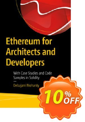 Ethereum for Architects and Developers (Mohanty) 프로모션 코드 Ethereum for Architects and Developers (Mohanty) Deal 프로모션: Ethereum for Architects and Developers (Mohanty) Exclusive Easter Sale offer for iVoicesoft